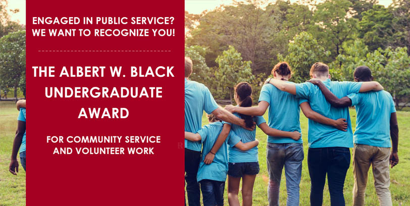 Al Black Award $1000 for eligible students