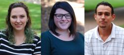 Hannah Curtis, Michelle Cadigan, John Leverso