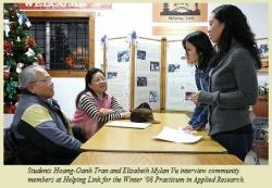 Hoang-Oanh Tran and Elizabeth Mylan Vu