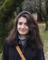 Aryaa Rajouria at the UW campus