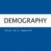 Demography logo