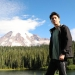 image of Yuan Hsiao standing near a lake with trees and Mt Rainier in the background